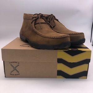 Twisted X Stee Toel Work Boots Mn Sz 12 Like New